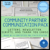 Community Partner Communication Tools for PBL Classroom Co