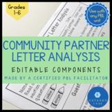Community Partner Letter Analysis