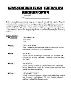 Community Photo Journal
