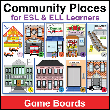 Community Places Game Boards