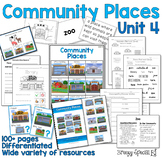 Community Places Mega Unit for Special Education: Unit 4
