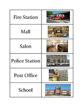 Community Places Sort Cards