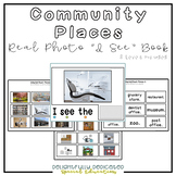 "Community Places Vocabulary Real Photo ""I See"" Book for Special Education"