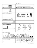 Community Planning Worksheets - Visual and Non-Visual