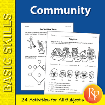 Community: Primary Skill-Builder Unit for All Subjects