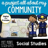 All About My Community,  Distance Learning, Google Classroom