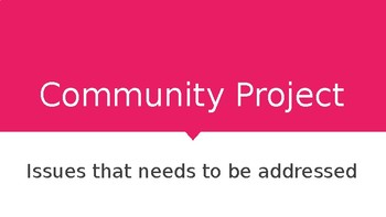 Community Project Introduction