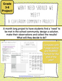 Community Project: Meeting a Classroom Need!