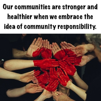 Community Responsibility: A HS Classroom Guidance Lesson