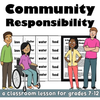 Community Responsibility: An Anti-Bullying Classroom Lesson & Activity