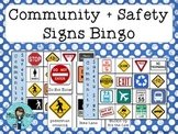 Community + Safety Signs Bingo