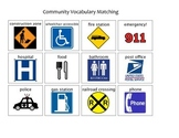 Community Safety Signs and Symbols Matching 2