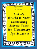 Community Service: 7 Brand New Ideas for Elementary Students