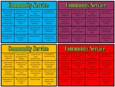 Community Service Chart