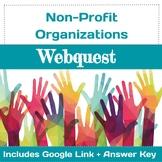 Non-Profit Organization Webquest · Community Service ·  Google ·  Answer Key