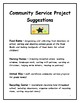 Community Service Project Ideas for Schools