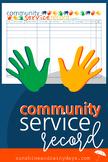 Community Service Record
