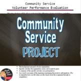 Community Service (Volunteering) Project  (Civics)