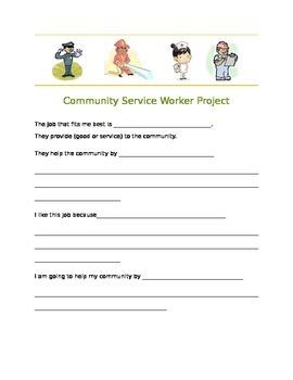 Community Service Worker