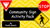 Community Sign Activity Pack