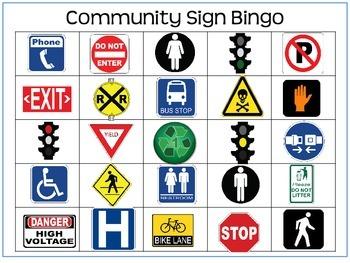 Community Sign Bingo