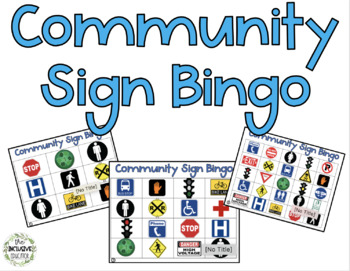 Community Sign Bingo