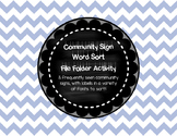 Community Sign File Folder