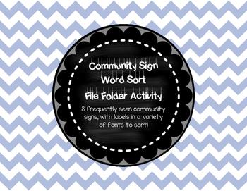 Community Sign File Folder