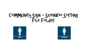 Community Sign - Scenario Sorting (autism)