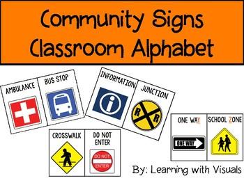 Community Signs Alphabet