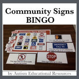 Community Signs BINGO