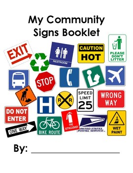Community Signs Booklet