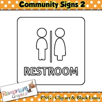 Community Signs Clip art