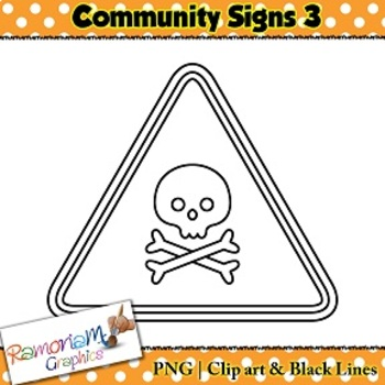 Community Signs Clip art