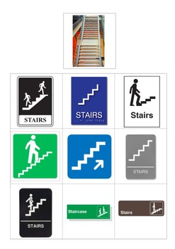 Community Signs: Functional Matching For CBIs & Activities Of Daily Living