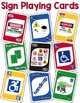 Community Signs Identification Card Game ~ like UNO (Pack #2)
