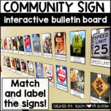 Community Signs Interactive Bulletin Board