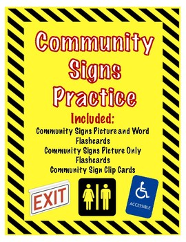 Community Signs Pack!