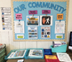 Community Signs and Places Bulletin Board for Special Education (FREE)