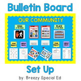 Community Signs and Places Bulletin Board for Special Educ