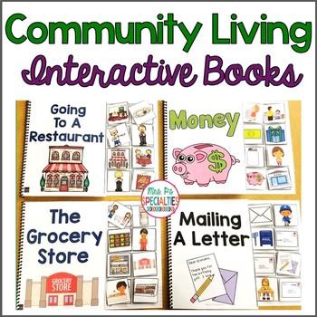 Community Skills Interactive Books (Life Skills)