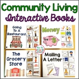 Community Skills Interactive Books - Life Skills and Special Ed (Adapted Books)