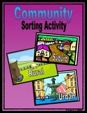 Community Sorting Activity