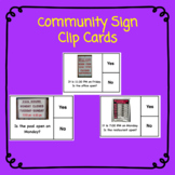 Community Store Hour Tasks Cards for Life Skills