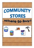 Community Stores- Where to buy?