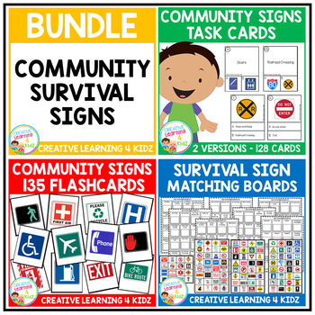 Community & Survival Sign Bundle
