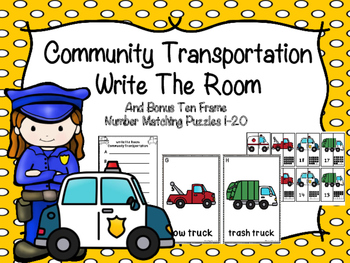 Community Transportation Write The Room