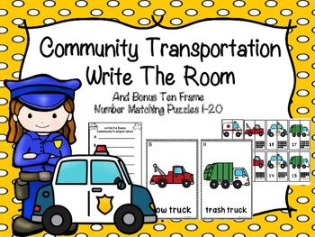 Community Transportation Write The Room