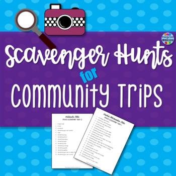Community Trip Photo Scavenger Hunt Lists