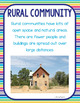 Community Types: Rural, Urban, Suburban and Industries Informational Articles